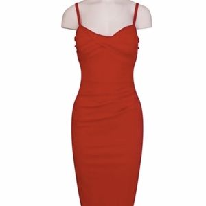 Stop Staring Million Dollar Baby Red Dress Size S